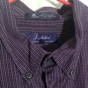 J. Ashford men's dress shirt